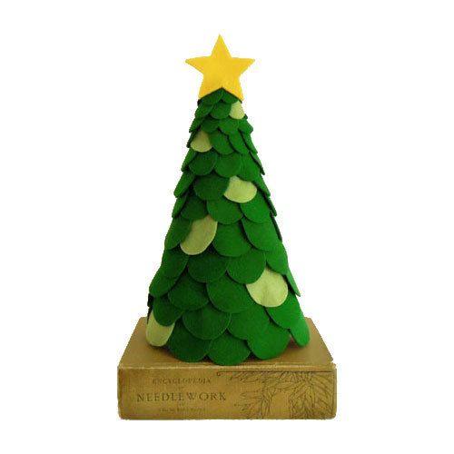 size 40 815a0 08d74 Decorative Felt Christmas Trees