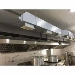 Commercial Kitchen Hood And Ducts