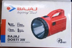 Bajaj Rechargable LED Torch