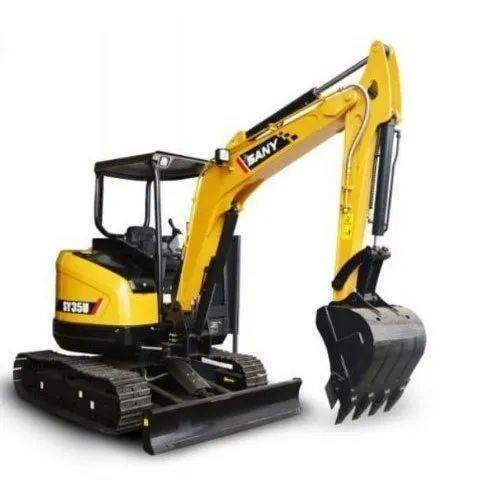 Sany Sy35u Mini Excavator