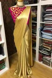 Satin Georgette Saree