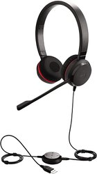 Jabra Evolve 30 II Duo Headset, Skype For Business MS Stereo