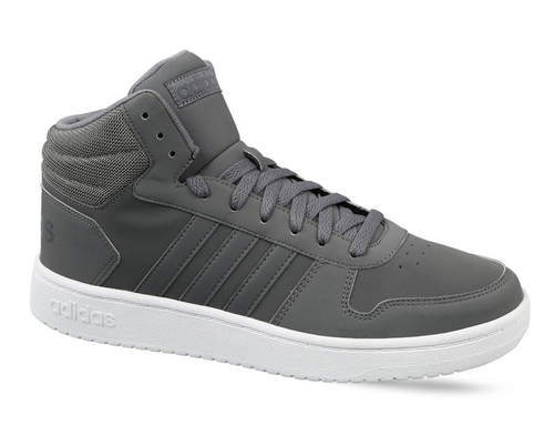 Men''s Adidas Basketball Hoops 2.0 Mid Shoes