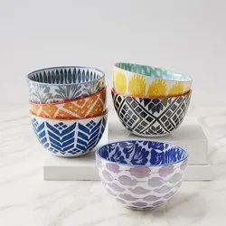 Pad Printed Bowls