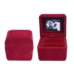 LCD Red Jewellery Box
