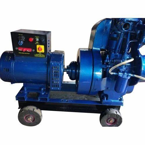 Metal Air Cooling Welding Diesel Generator Power 10 And 9 KW