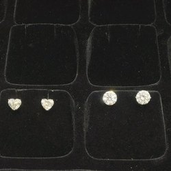 Real Diamonds Diamond Stud Earrings, 5-7 G