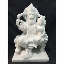 Marble Nursing Bhagwan Statue