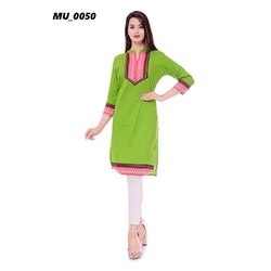 Fancy Green Ladies Kurti