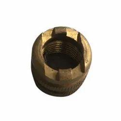 Golden Round Brass Electric Insert