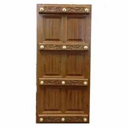 Rectangular Decorative Wooden Doors