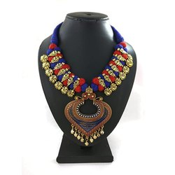 Designer Meenakari Kolhapuri Heavy Necklace