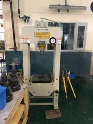 Manual Hand Operated Hydraulic Press 20 Ton