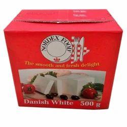 Danish 500 g White Cheese, Packaging: Box