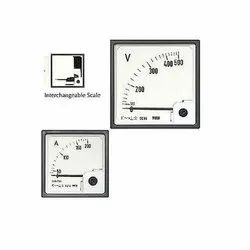 Dual Moving Iron DC Meters (PQ 2 in 1)