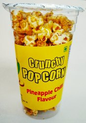 Maize Pineapple Chilli Popcorn, Packaging Type: Plastic Glass, 60 g