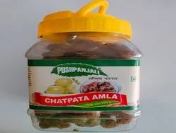 Brown Round Amla Candy (Masala), Packaging Type: Plastic Jar