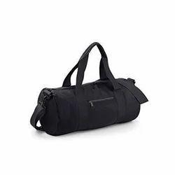 Black Plain Gym Bag 35be0a5de00b6