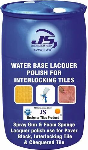 Interlocking Tile Water Base Lacquer Polish