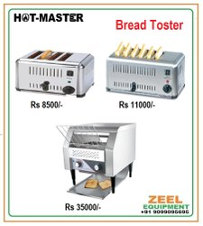Hot Master 4 Ats Bread Toster, Pop-Up Toaster, Toasting
