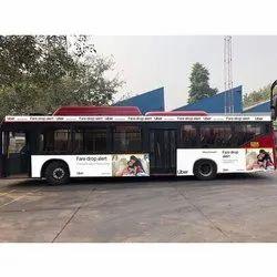 Banner Bus Ads Service, Mode Of Advertising: Offline