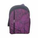 Multicolor Printed School Bag
