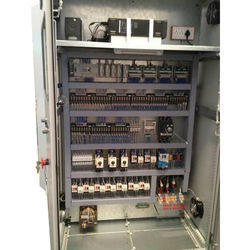 Single Phase Mild Steel PLC Control Panel