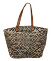 Natural Juco Bag with One Color Print
