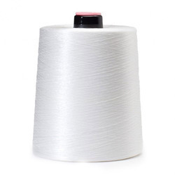 White Flexfit Cone Yarn for Sewing