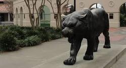 Black Tiger Statue