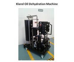 Oil Dehydration Machine