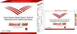 Calcium Carbonate Calcitriol Vitamin B1 Vitamin B6 Methylcobalamin & Zinc Sulphate