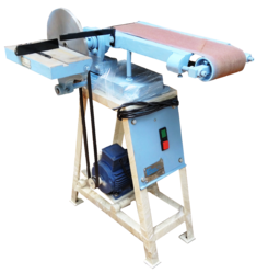 1 Hp Semi-automatic Belt and Disc Sander Machine