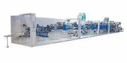Full Servo Sanitary Napkin Production Line