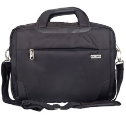 Polyester Black Office Bags, Capacity: 25 L