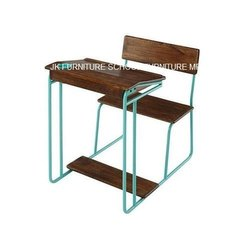 Color Coated Student Chair Desk