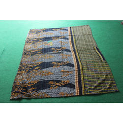 Vintage Kantha  Bed Cover