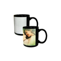 Sublimation Black Patch Mug