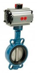 Actuator Type Butterfly Valve