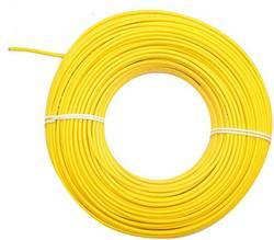 Yellow Plastic Plaza Wires, 220 V