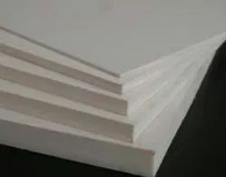 Gargson Impex Plain White WPC Board, Thickness: 5 Mm, Size: 4 X 8 Feet