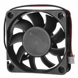 24 Vdc Black DC Cooling Fan, For Panel Board, Model Name/Number: 6025 A24