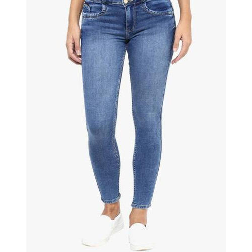 Fourgee Ladies Blue Jeans, Size: 26-36