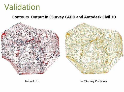 Esurvey Civil Design Survey And Mapping Software, Surveying