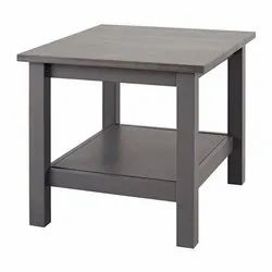 Grey Modern Wooden Side Table For Home