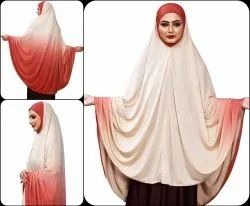 Stylish Stitched Islamic Namazi Chaderi Hijab