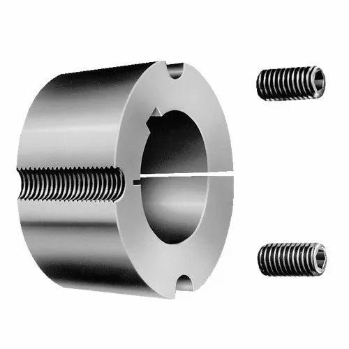 Mild Steel 20 Mm To 200 Mm MS Taper Lock Bushing, for Industrial,   ID:  16218047548