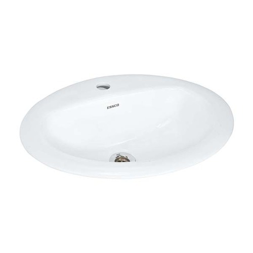 White Ceramic Counter Top Basin