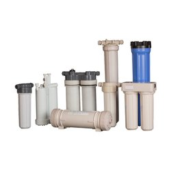 Filter Cartridge Housing, Capacity: 400 Gallon