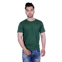 Fashionable Solid Green T-Shirt For Men